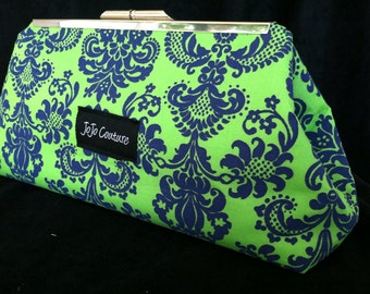The Olive Clutch by JoJo Couture
