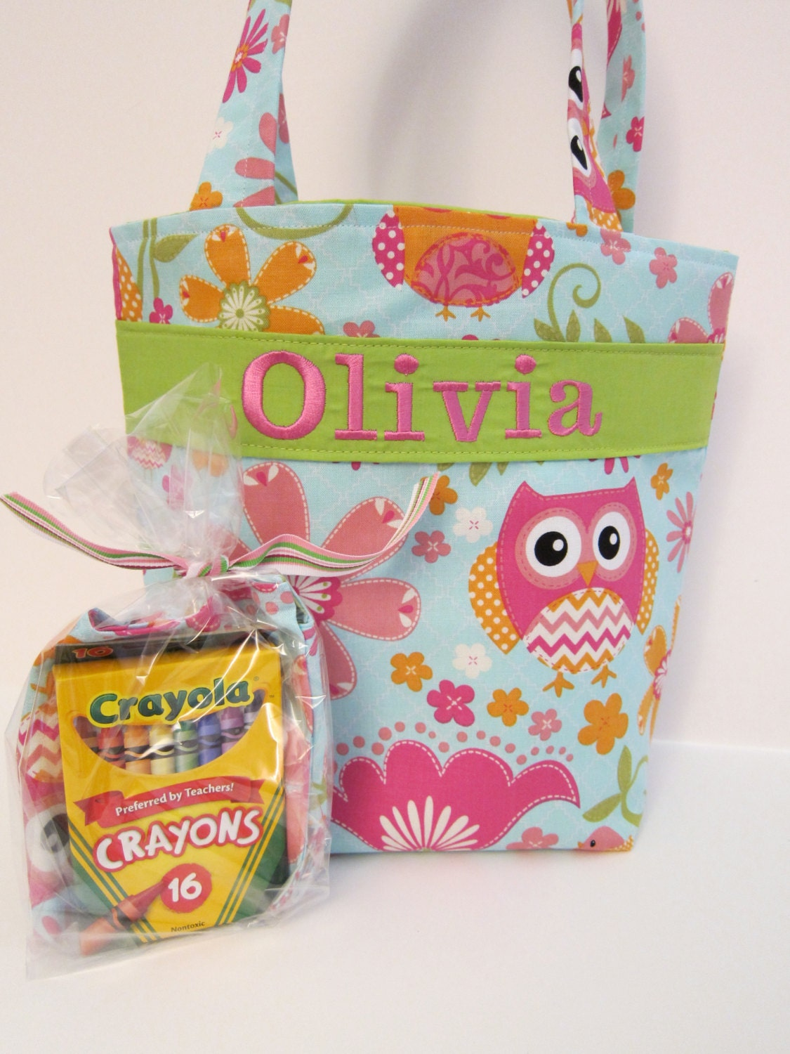 Flower Girl Gift Quiet Tote Personalized Kids Tote with