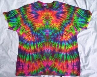 Rainbow Amplified Tie Dye Size XL