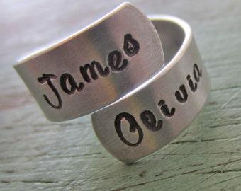 Wrap Ring in Aluminum