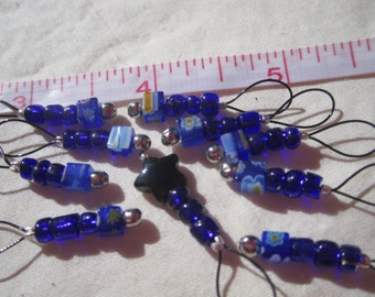 Set of 10 Laceweight Snag Free Stitch Markers
