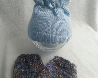 Ready to ship. RTS. In stock. Newborn Baby Bunny Set. Bunny hat. Leg warmers. Baby photography prop.Photo Prop. Newborn size.