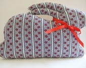 Rabbit Pillow - Rabbit Shelf Sitter - Red, White and Blue - Stars and Stripes Fabric