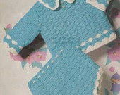 PDF Crochet Pattern Baby Boys and Girls Sweater/pants/diapers/shorts/romper (Q282)