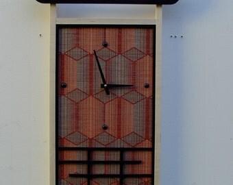Contemporary Asian Wall Clock