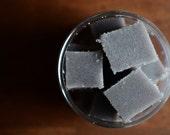 Woodsmoke and Vanilla Sugar Cube Body Scrub, Sugar Scrub Cubes
