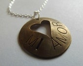 Mi Amor (My Love) Heart Necklace