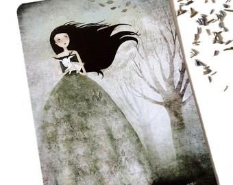 Little Jackalope Baby - Postcard