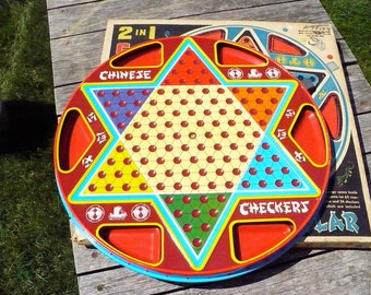 Ohio Art Chinese Checkers Game Board