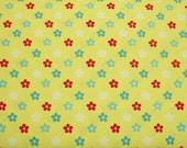 COUPON CODE SALE - Amelie, Yellow, Henry Glass Fabric, 100% Cotton Quilt Fabric, Yellow Fabric, Floral Fabric, Quilting Fabric