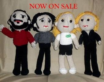 SALE True Blood Dolls Sookie Stackhouse, Bill Compton, Eric Northman, Alcide Herveaux