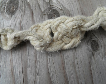 One Hemp Necklace (18 in.) (One of a Kind)