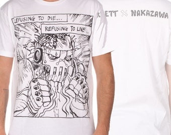Refusing To Die  Josh Barnett X Lucky Nakazawa UFC #164 Walkout T-Shirt