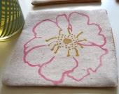 Cherokee Rose fabric coaster Set of 4