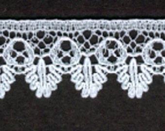 """5/8""""  Ecru  trim Cotton Lace  35yds  (889)"""
