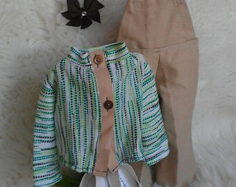 18inch Doll Overall Outfit