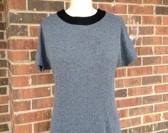 Gray Shift Dress Size 10
