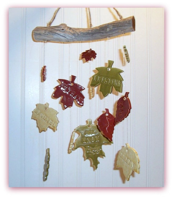 Family Tree  Wind Chime  Customized