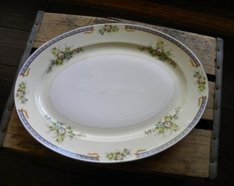 1 Meito China Large Serving Platter