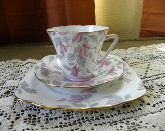 Vintage A.B.J. Crafton 3 Piece Teacup