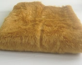 Medium Pile Biscuit Brown Fur fabric