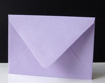 "10 Plum (Light Purple) RSVP Envelopes . 4Bar Envelopes . 3.625"" x 5.125"""