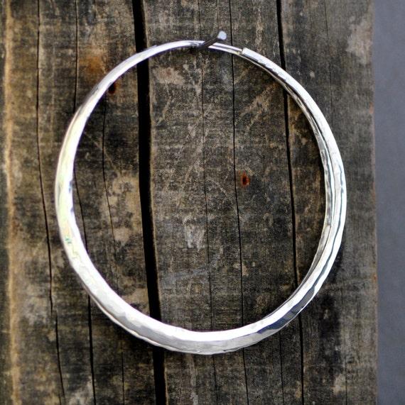 3 Inch Sterling Silver Hoops Large Hoop Earrings By 2TrickPony