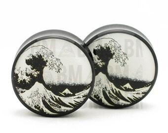 "7/16"" (11mm) Great Wave B&W BMA Plugs"