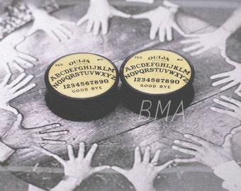 0g (8mm) Ouija Board BMA Plugs Pair