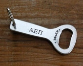 Alpha Epsilon Pi Bottle Opener - Fraternity, Greek Custom Key Chain, Big Brother, Little Brother Gift, AEPI, OFFICIALLY Licensed Product