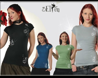 3Elfen Girlie Shirt Globe Fairy