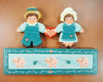 Country Kids Hand Painted Wood x171