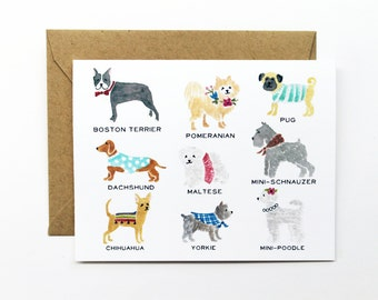 Any Occasion Card - Smalls Dog Collection