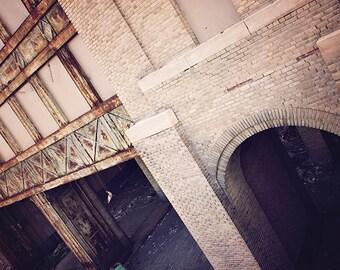 Decay Photography, Buffalo Photography, Buffalo New York, Central Train Terminal, Architecture Photography, Abandoned, Masculine, Brick