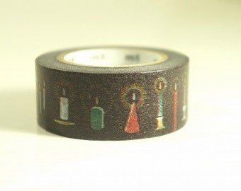 mt Christmas Washi Masking Tape - Candle