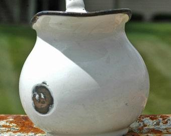 vintage country metal jug... home decor... t 14 Laf