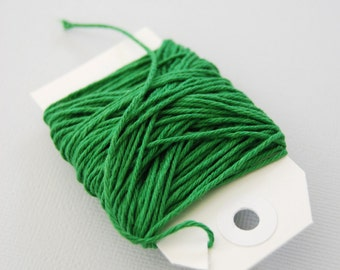 Solid Green Twine 15 yards