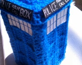 TARDIS Box, Doctor Who, Functional Box, Time And Relative Dimension In Space