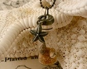 Beach in a Bottle Necklace
