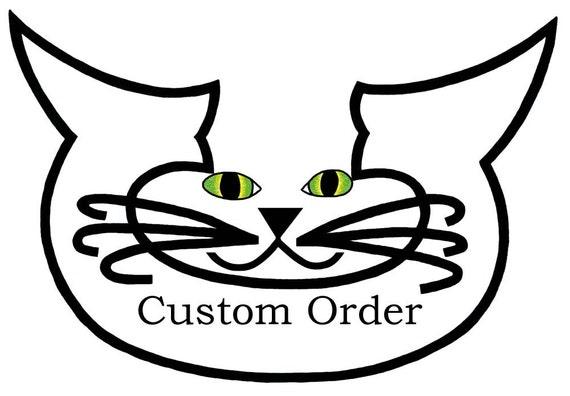 Cat Art Cards- Hanukkah Card- Menorah- Whimsical Cat Art- by beckyzimm