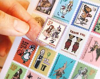 Wizard of Oz Sticker Stamps