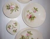 reserved for melody...Vintage Limoges Briar Rose Design Serving Set
