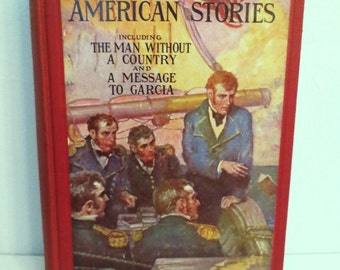 Book-Patriotic American Stories 1937