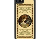 iPhone 4 iPhone 5 Samsung S3 Covers - Ivy by Alphonse Mucha - Free Metal Insert.