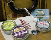 Moustache Wax Action Pack -  Four Scents and More