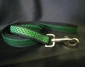 Celtic Knot Double Sided Leash - 6 Color Choices! - Lead Made to Match Celtic Knot Martingale Dog Collar - Leash Only