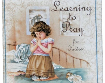 Learning to Pray for children cloth book
