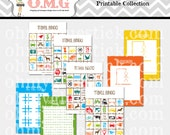 Printable Travel Games Collection