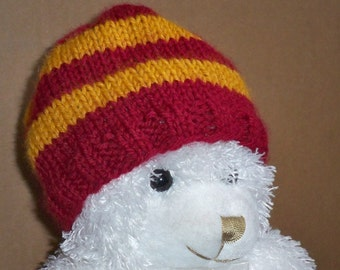 Baby Hat in Gryffindor Colors
