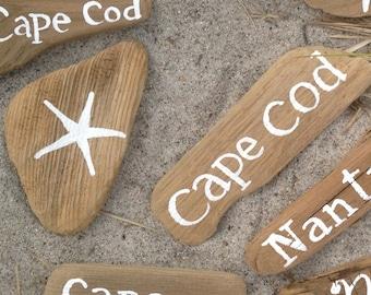 Starfish Driftwood Sign